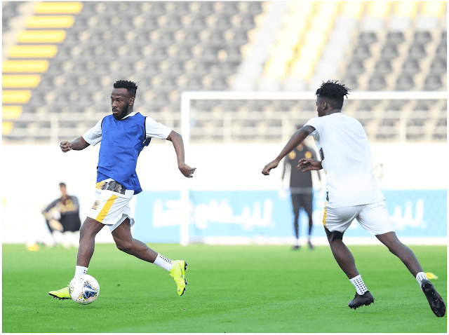 فهد المولد لاعب نادي الاتحاد يعود من جديد بعد غياب دام لمدة عام