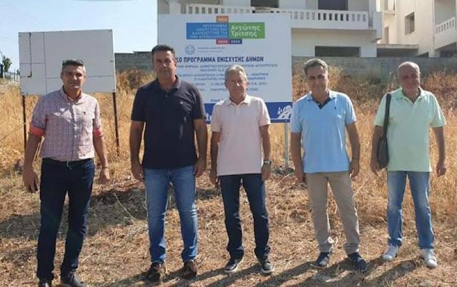 Δήμος Ναυπλιέων: Πολύ σημαντικό έργο υποδομής το δίκτυο αποχέτευσης του Αγίου Αδριανού