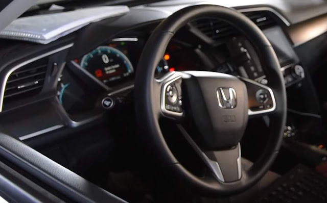 novo Honda Civic 1.5 Turbo 2016 - interior