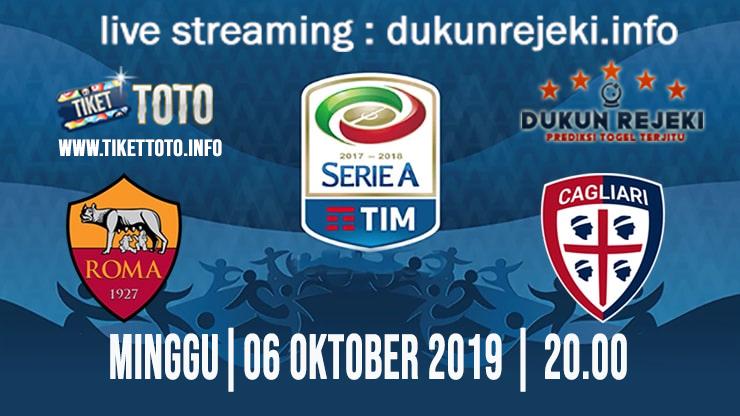 Prediksi Skor Pertandingan AS Roma Vs Cagliari 6 Oktober 2019
