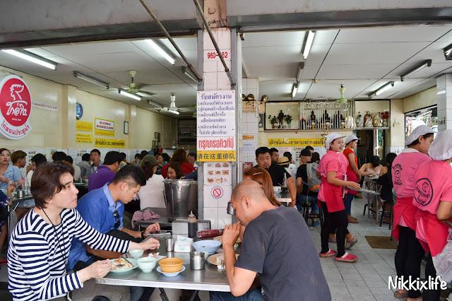 【泰國。曼谷】水門海南雞飯:老字號的平價雞肉。 3