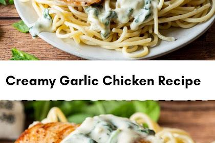 Creamy Garlic Chicken Recipe