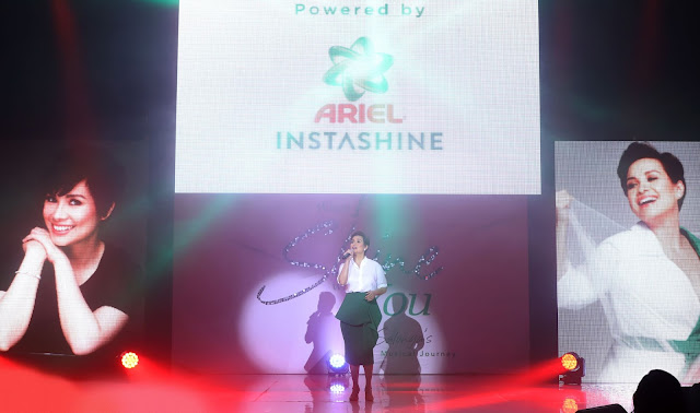 Lea introduces a whole new detergent world with Ariel Instashine
