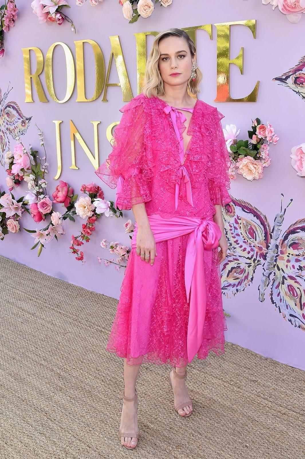 Brie Larson - Rodarte FW/19 Runway Show at the Huntington Library in San Marino - 02/05/2019