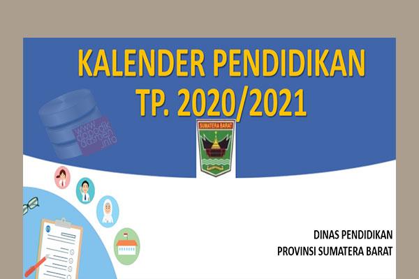 Anda Mencari Kalender Pendidikan Provinsi Sumatera Barat Tahun Pelajaran 2020-2021? Kaldik Sumbar Tapel 2020/2021 bisa didownload dengan mudah disini