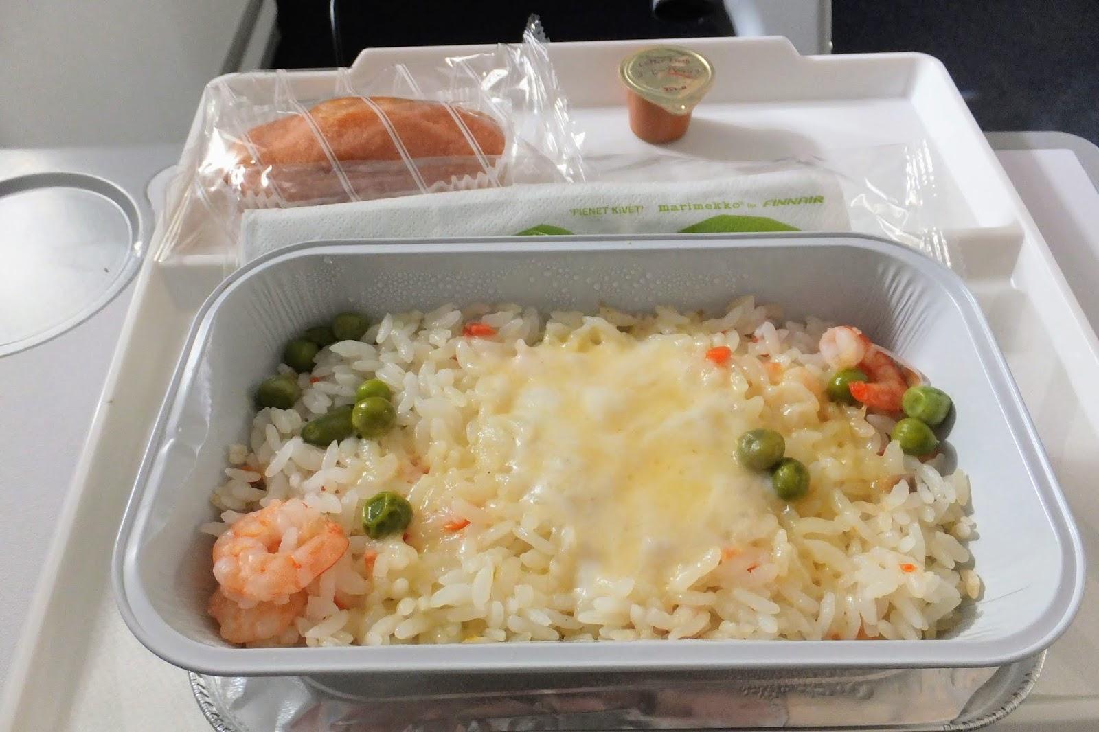 FINAIR A350-900 flight meal no.2