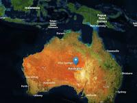Ngeri! Benua Australia Bergerak Dekati Indonesia