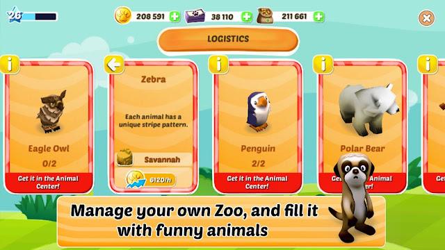 Download Zoo Evolution Apk Mod Mega Terbaru