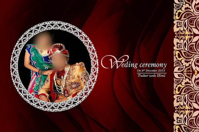 Wedding Album Cover PSD Free Download 2020