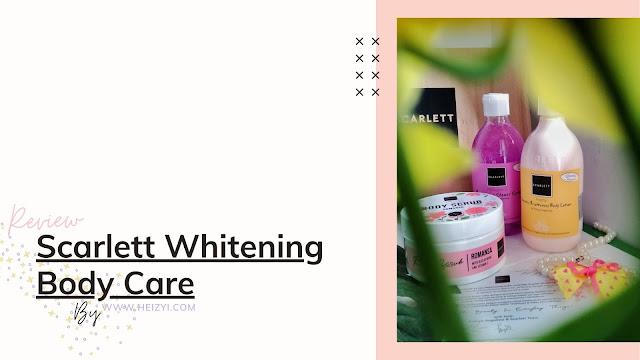 Review Scarlett Whitening Body Care