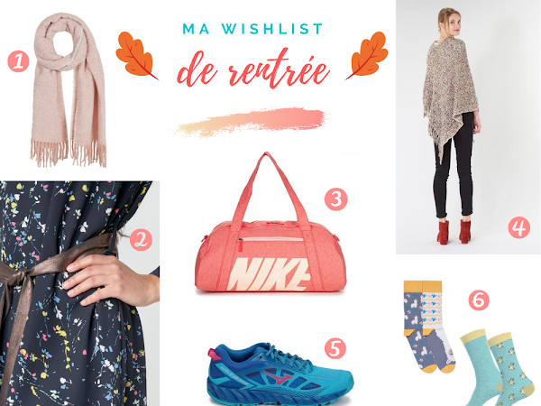 Shopping : ma wishlist de rentrée !