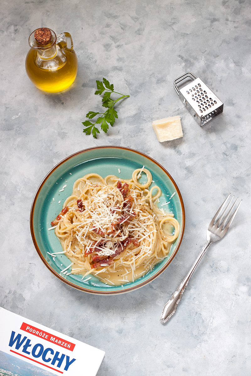 Spaghetti Carbonara najlepsza