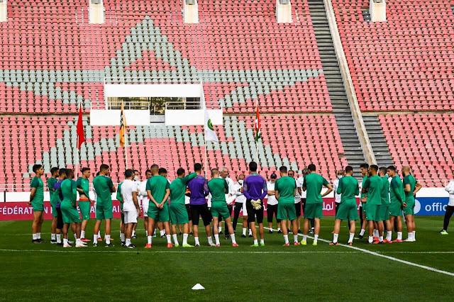 الاعلان عن تواريخ مباريات المنتخب المغربي في تصفيات مونديال قطر