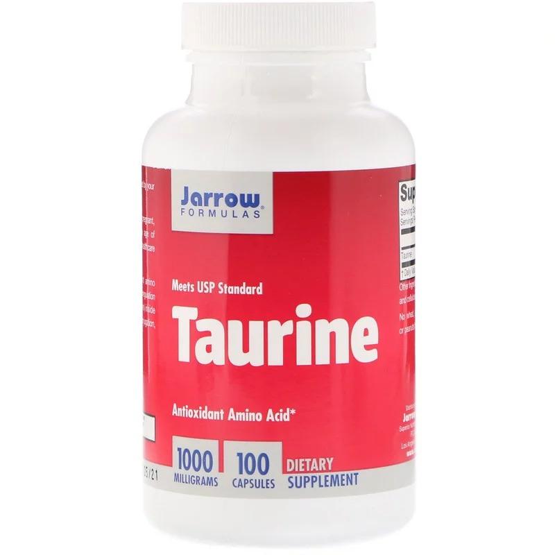 Jarrow Formulas, Таурин, 1000 мг, 100 капсул