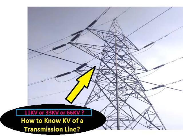 identify KV transmission line
