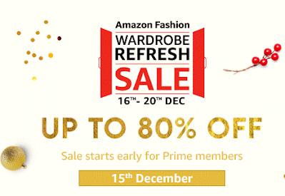 Wardrobe Refresh Sale on Amazon