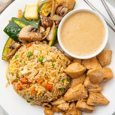 The best Hibachi Chicken with Fried Rice