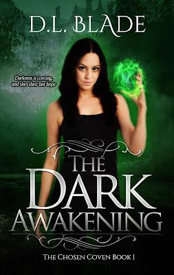 The Dark Awakening YA book cover