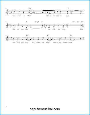 Someday Sweetheart 2 chords jazz standar