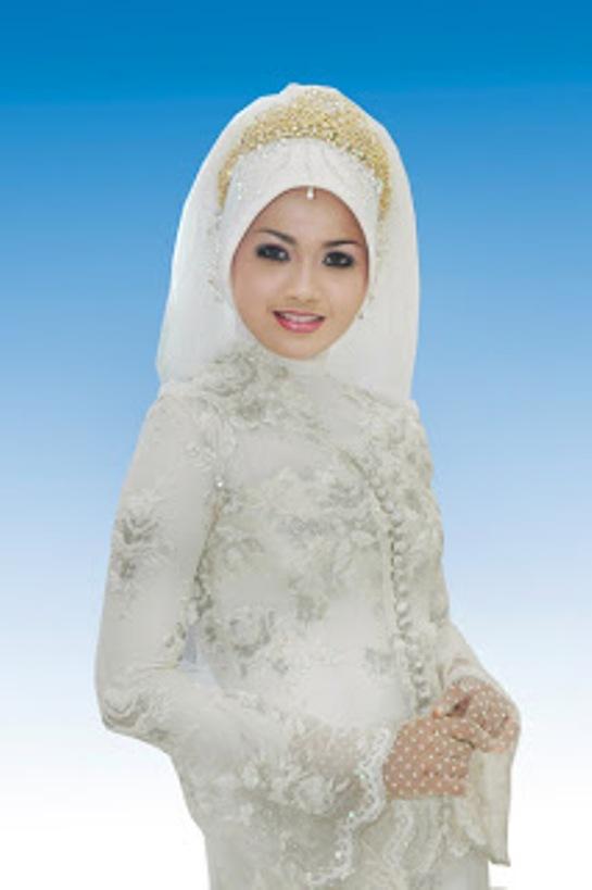 Model Jilbab Untuk Kebaya Putih Hijab Trend
