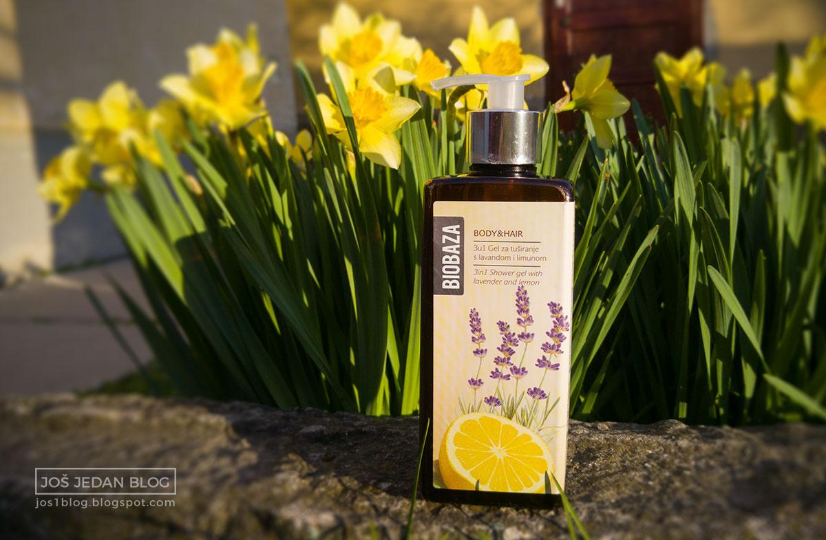 Biobaza 3 u 1 gel za tuširanje lavanda i limun recenzija, utisci, blog