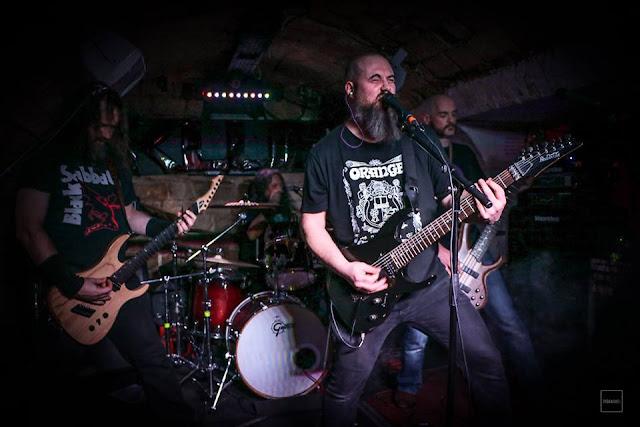 conviction doom metal live olivier verron amduscias baal interview black metal temple of baal le scribe du rock
