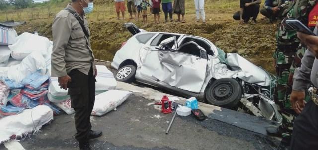 Kecelakaan Beruntun Terjadi di Shortcut Buleleng, Bali, 3 Mobil Rusak Parah