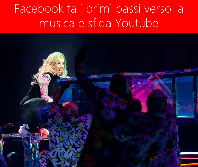 Facebook sfida Youtube nel mondo della musica con la Universal Music