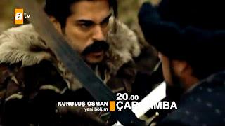 توقعات الحلقة 16 من قيامة عثمان : عودة غيخاتو و إنتقامه من عثمان و بلغاي و هل ستتأجل الحلقة 16 ؟؟