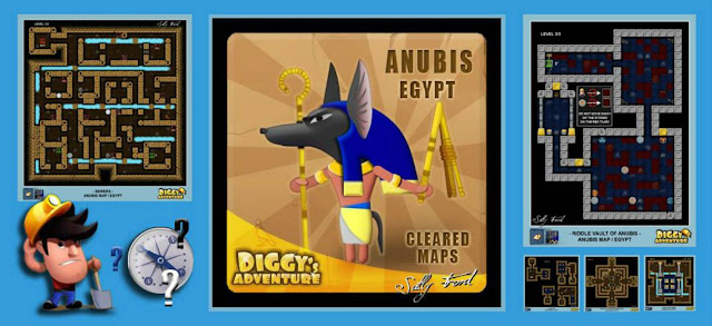 Diggy's Adventure Walkthrough: Anubis Quest
