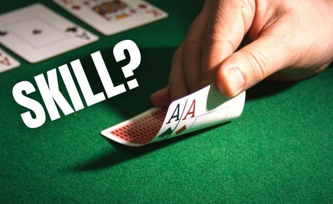 Is Texas Hold'em a Game of Skill?