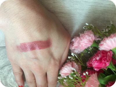avon ultra colour toasted rose lipstick swatch review