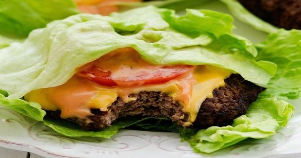 Cheeseburger Lettuce Wraps Recipe