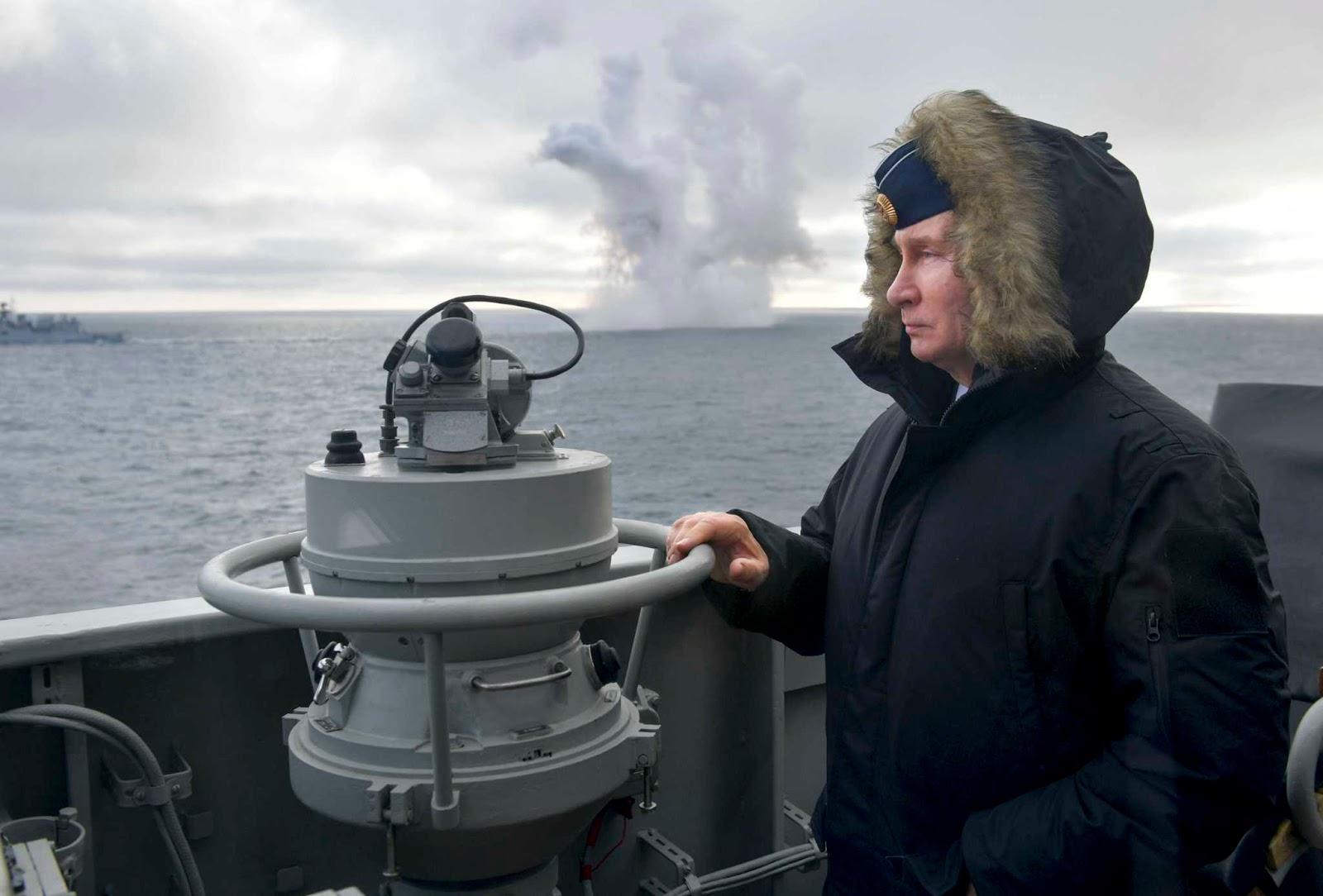Mr. Putin Oversees Hypersonic Missile Test Near Crimea