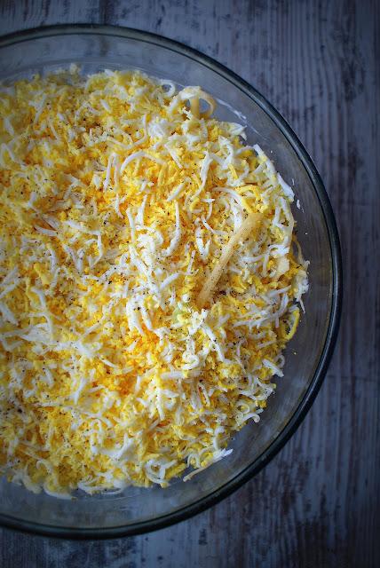 sos tatarski,Develey,Woj Len,olej lniany,oleje tloczone na zimno,sałatka warstwowa,salatka z tunczykiem,blyskawiczna salatka na impreze,pyszna salatka,