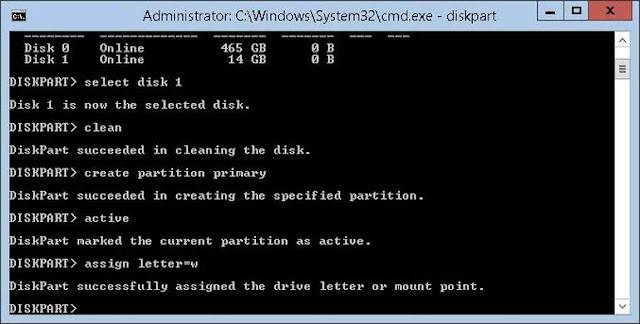 clé USB bootable pour installer Windows sous OS X