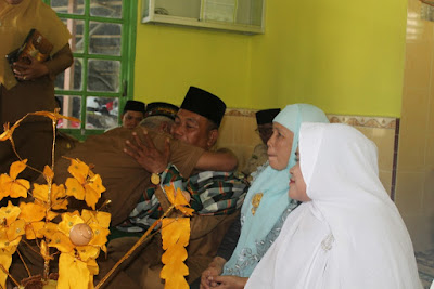 Kemenag Tanjungbalai Adakan Acara Tepung Tawar Bagi Calon Jamaah Haji