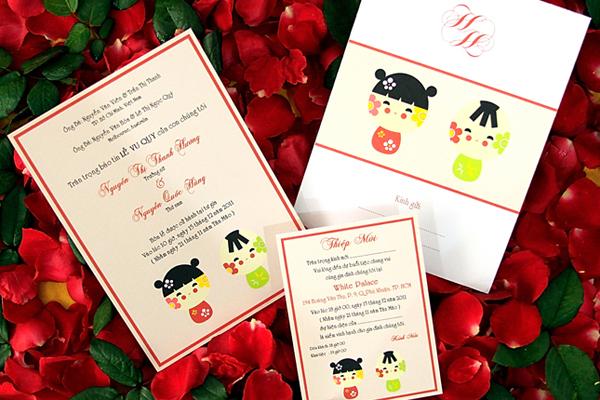 In thiệp cưới tại Thanh Hóa giá rẻ theo yêu cầu