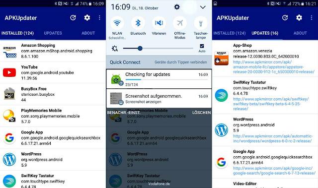 شرح تطبيق APKUpdater