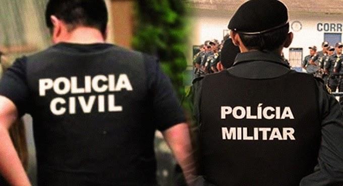 URGENTE: Operação conjunta da Polícia Civil, GPM de Elesbão Veloso e Força Tática fazem abordagens no Matias e Capitão Mundoco.