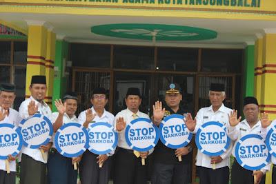 Kemenag Tanjungbalai Tandatangani MoU Dengan BNN Tanjungbalai