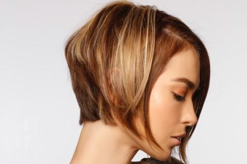 kadın küt saç tasarımları