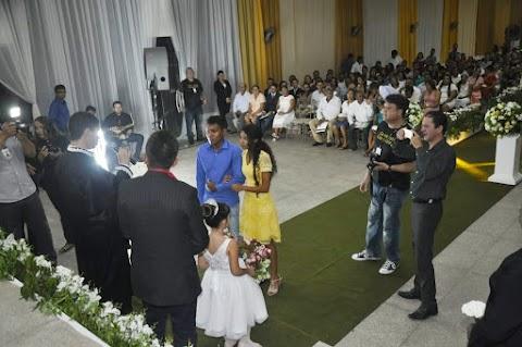 Casamento Comunitário mais bonito foi realizado em Bom Lugar