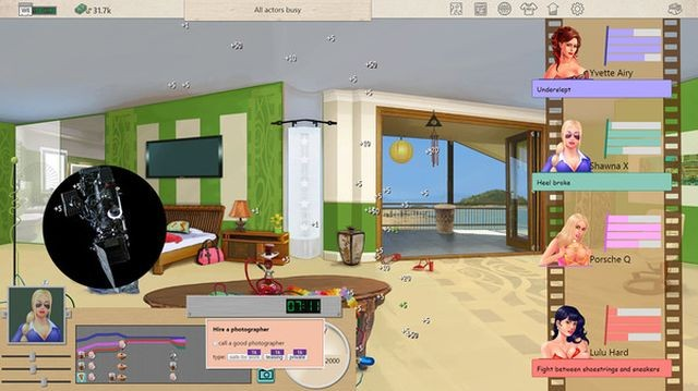 Steam coloca em Acesso Antecipado um simulador da industria pornô.