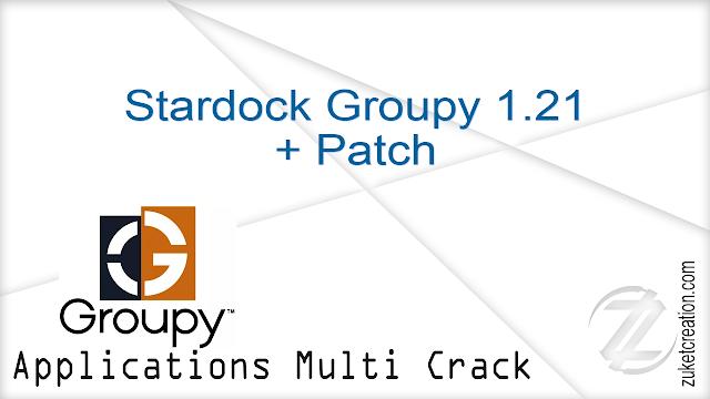 Stardock Groupy 1.21 + Patch   |  23 MB