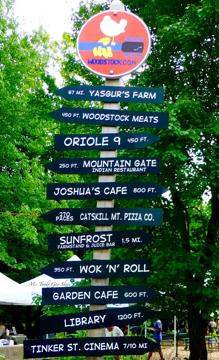 Woodstock, NY is a cool little village that maintains a 60s vibe and its ties to the famous Woodstock concert. | Ms. Toody Goo Shoes