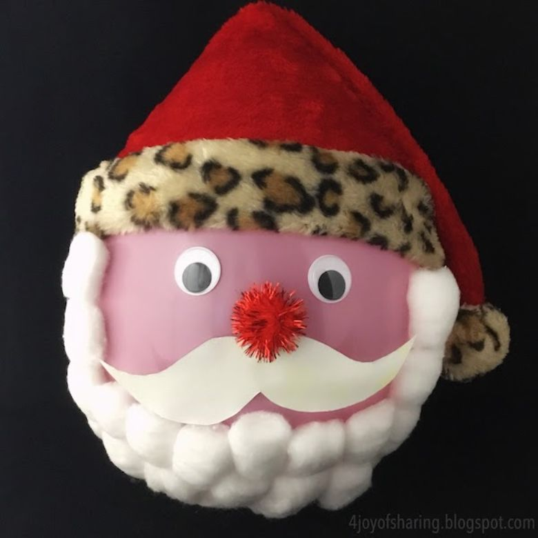 Balloon santa craft