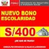 Nuevo Bono Escolaridad 2021para Trabajadores Del Área Pública