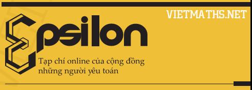 logo tạp chí Epsilon số 4 mới nhất