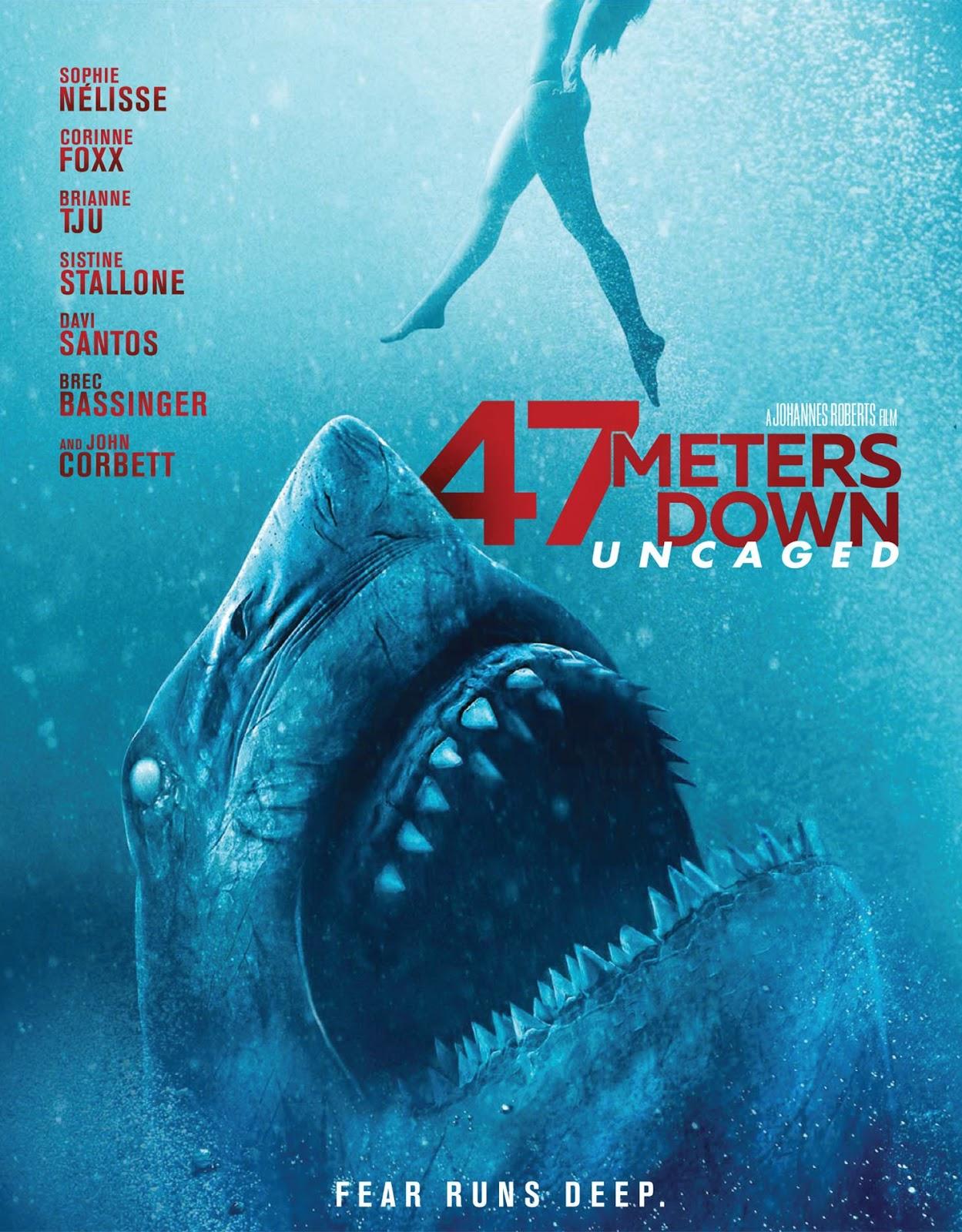47 Meters Down: Uncaged [2019] [DVDR] [NTSC] [Subtitulado] [V2]